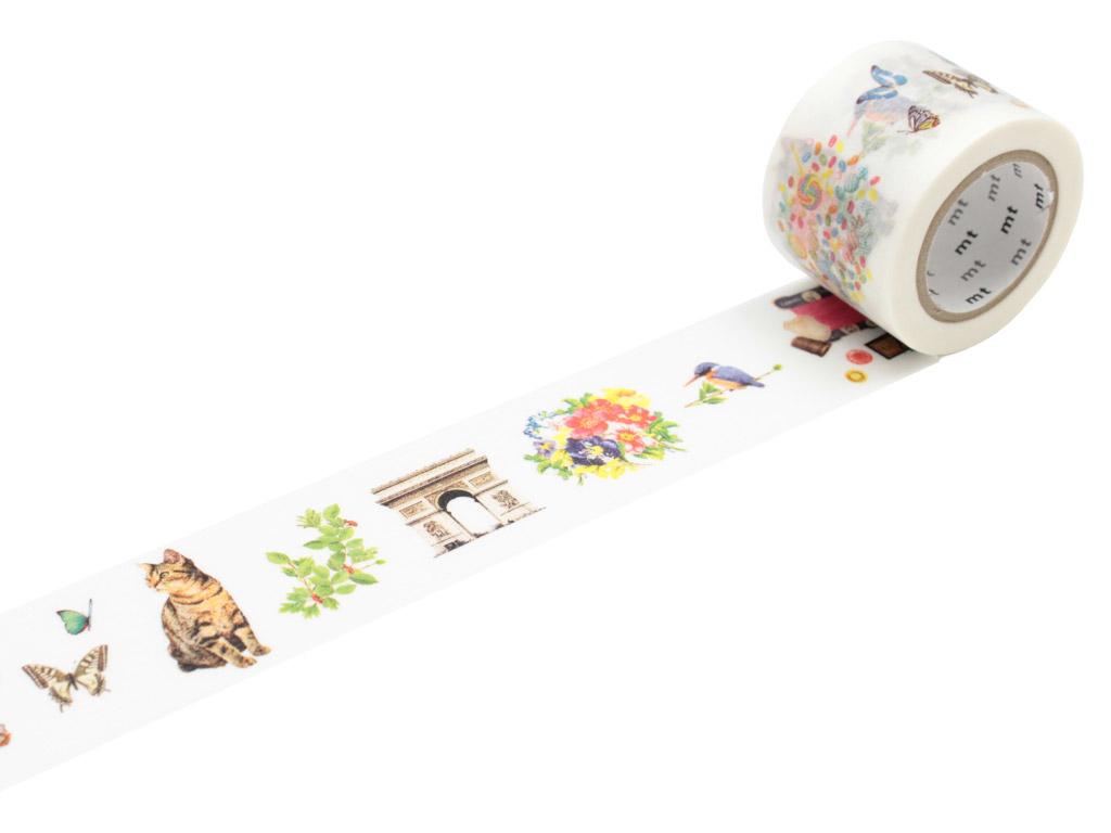 Washi dekoratyvi lipni juostelė mt ex 35mmx10m set - content