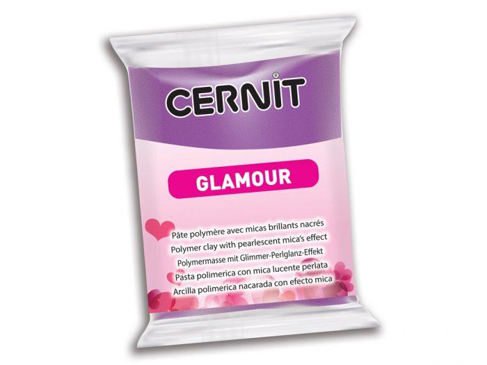 Polimerinis molis Cernit Glamour 56g