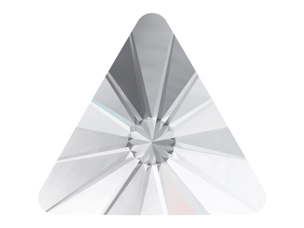 Krištolas Swarovski Flat Back No Hotfix trikampis 2716 5mm 10vnt. 001 crystal