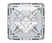 Kristāla akmentiņš Swarovski kvadrāts 4481 16mm 001 crystal