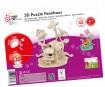 3D dėlionė mediniai Marabu Kids Fairy House 43 dalys
