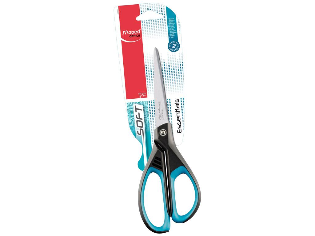 Žirklės Maped Essentials Soft 21cm blister.