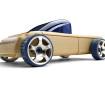 Žaislinis automobilis Automoblox Mini T9 pickup blue