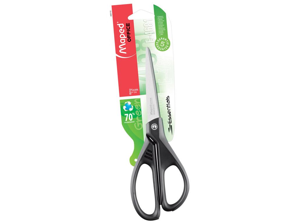 Žirklės Maped Essentials Green 21cm blister.