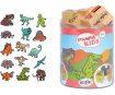 Spaudas Aladine Stampo Kids 15vnt. Dinosaur+ pagalvėlė antspaudams juoda