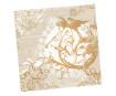 Servetėlės 33x33cm 20vnt. 3 sluoksnių Classic Angel Gold
