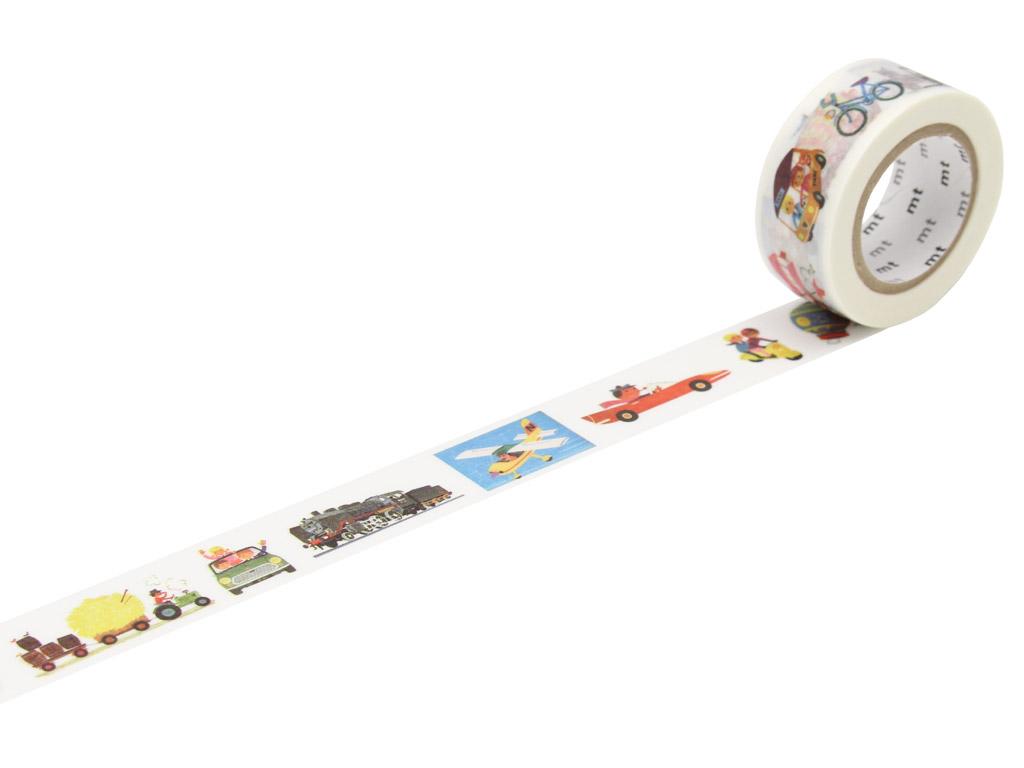 Washi dekoratyvi lipni juostelė mt Alain Gree 20mmx10m vehicle