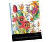 "Spalvinimo knyga ""Colouring Book for Flower Lovers"" (Anu Purre)"
