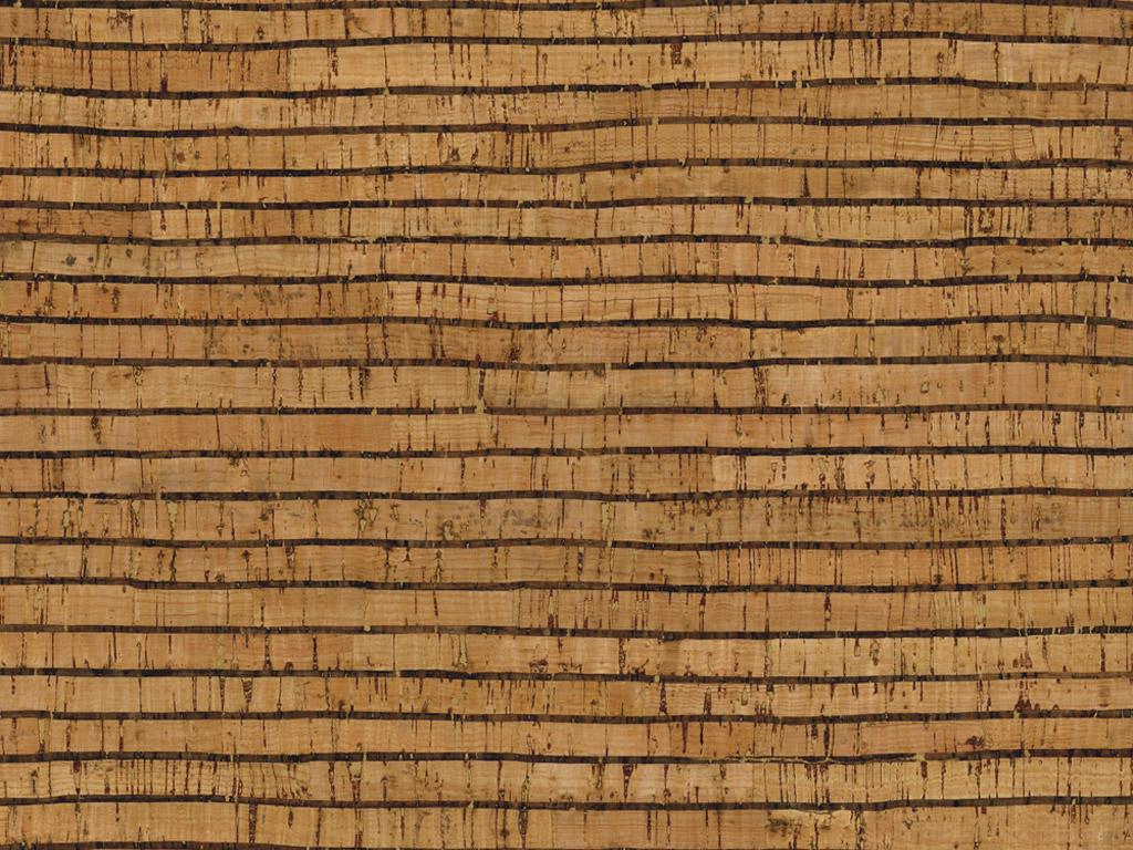 Kork rullis Rayher 0.5mm 45x30cm Stripes naturaalne/must