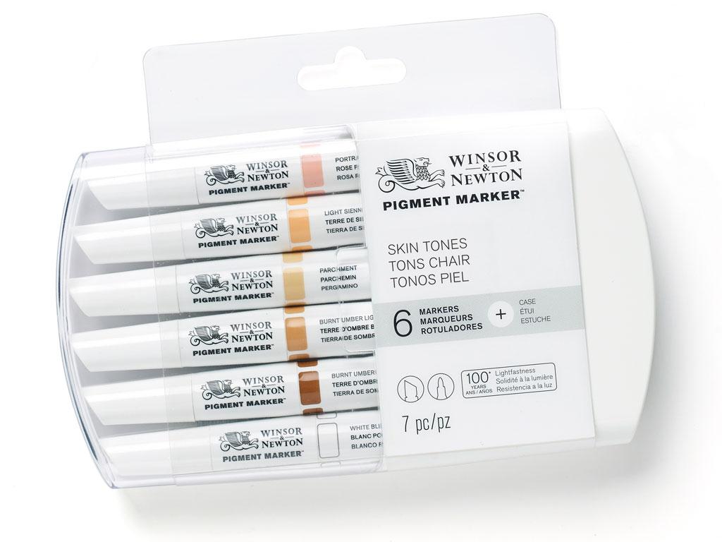 Žymeklis W&N Pigment 6vnt. skin tones