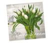 Servetėlės 33x33cm 20vnt. 3 sluoksnių White Dream