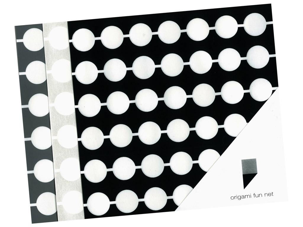Washi paper Origami Fun Net 15x15cm 3x3pcs dango-dumplings