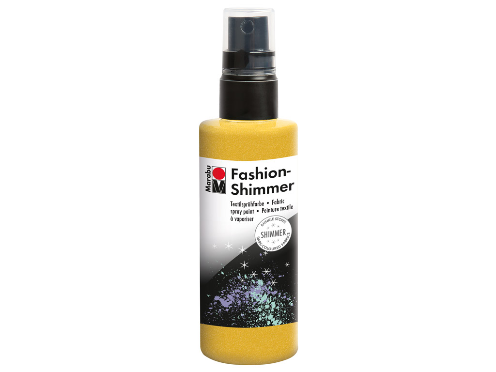 Tekstilės dažai Fashion Shimmer 100ml 520 lemon