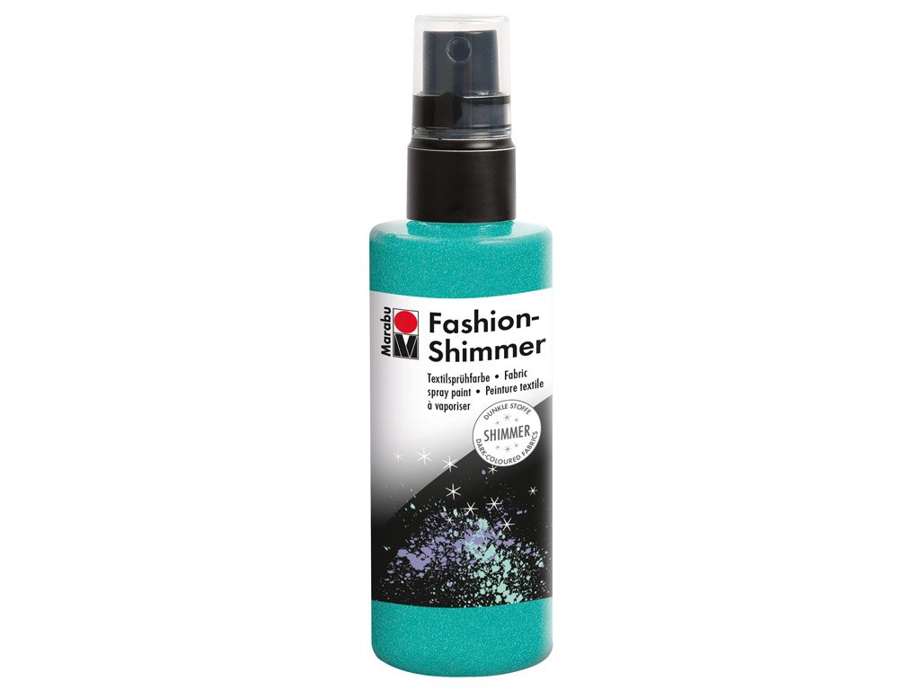 Tekstilės dažai Fashion Shimmer 100ml 599 aquamarin