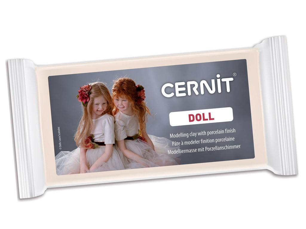 Polümeersavi Cernit Doll Translucent 500g 425 carnation