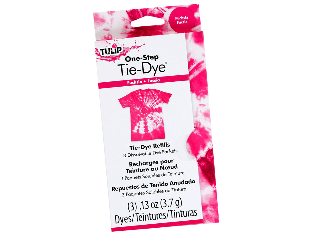 Batikos dažai Tulip One-Step Tie-Dye 3x3.7g (3x118ml) fuchsia