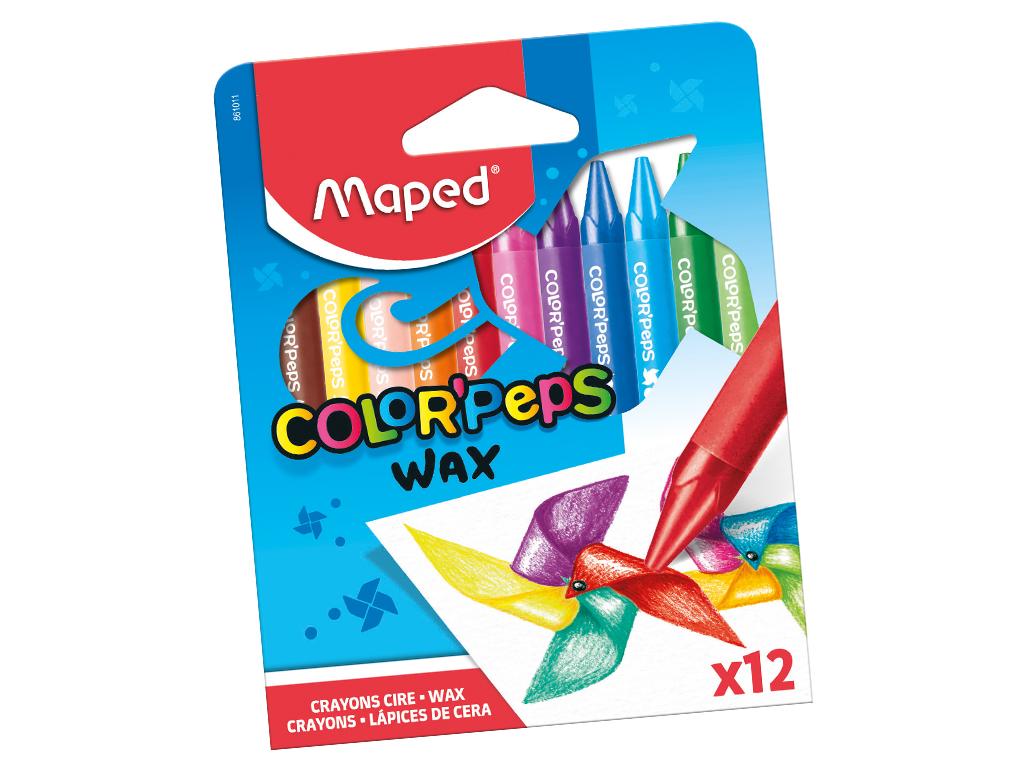 Vaškinė kreidelė ColorPeps 12vnt.