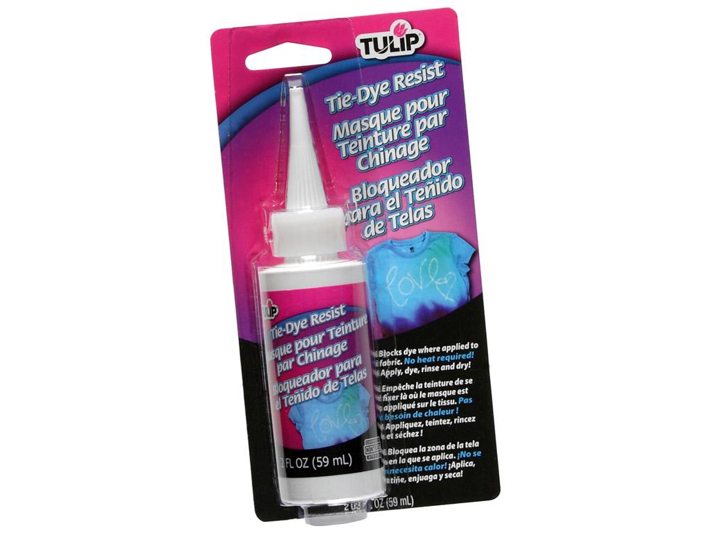Tekstilinių dažų kontūras Tulip Tie-Dye Resist 59ml blister.