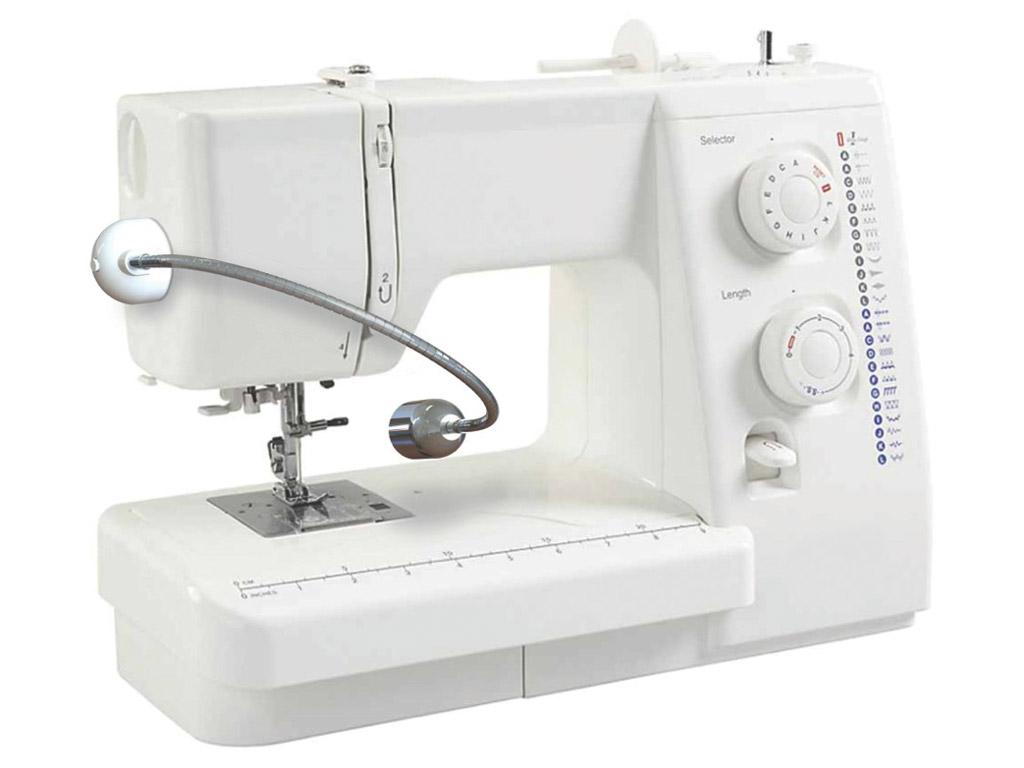 Šviestuvas siuvimo mašinai Daylight LED balta/sidabrinė