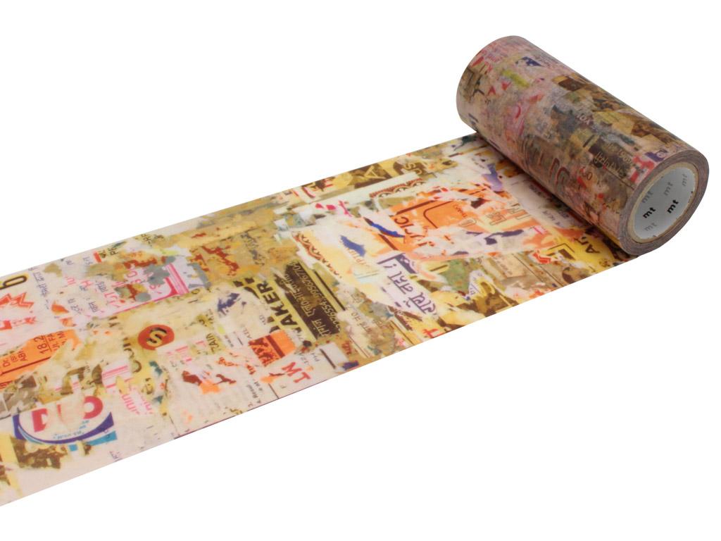 Washi dekoratyvi lipni juostelė mt casa deco 100mmx10m poster