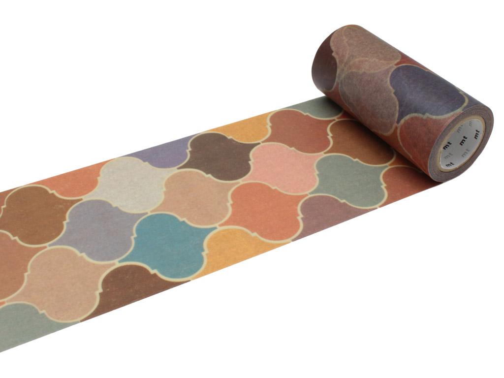 Washi dekoratyvi lipni juostelė mt casa deco 100mmx10m tile brick