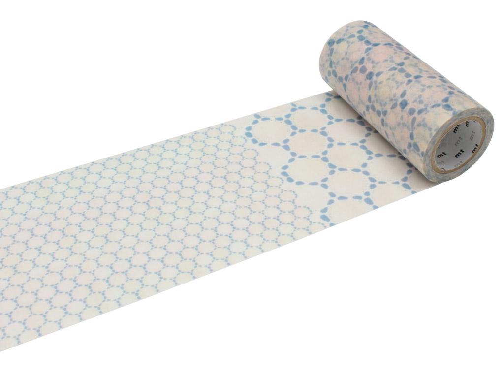 Washi dekoratyvi lipni juostelė mt casa deco 100mmx10m lace cotton