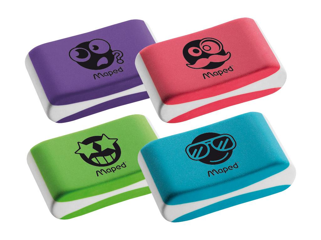 Eraser Maped Essentials Soft Color assorted