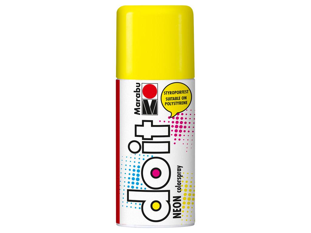 Aerosoolvärv do it Neon 150ml 321 yellow