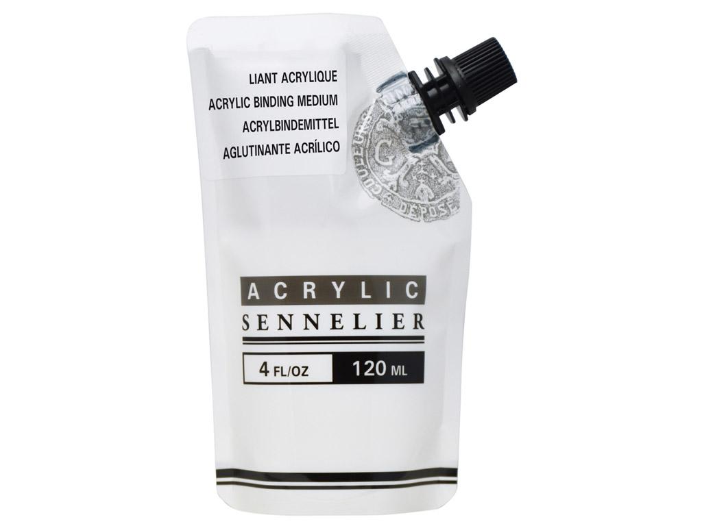 Akrilinių dažų priemonė-rišiklis Sennelier 120ml