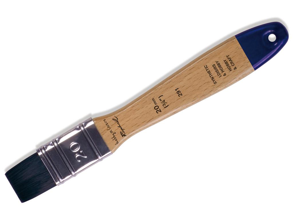 Pintsel 291/20 Hobby&Loisirs sünteetiline lapik blistril