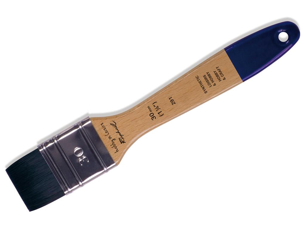 Pintsel 291/30 Hobby&Loisirs sünteetiline lapik blistril