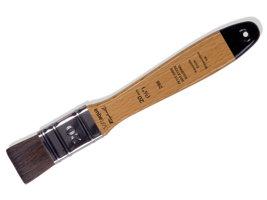 Teptukas 296/20 Softaqua sintetinis plokščias blister.