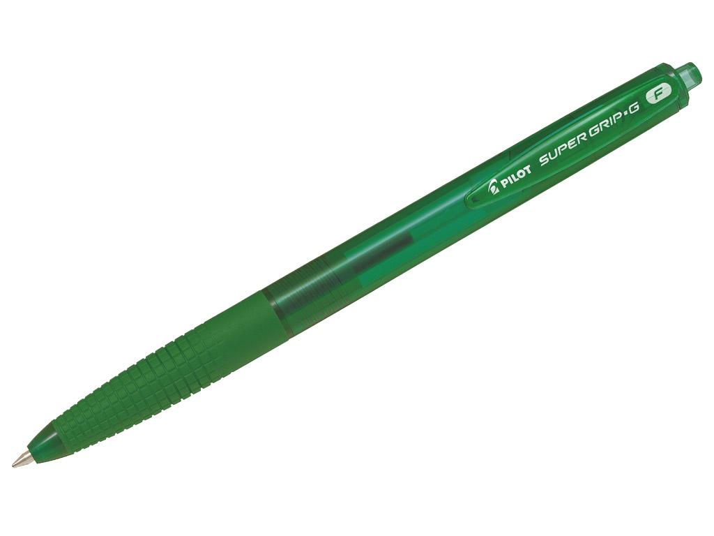 Lodīšu pildspalva Pilot Supergrip G RT 0.7 zaļa