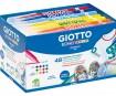 Marker tekstiilile Giotto Decor Textile 48tk
