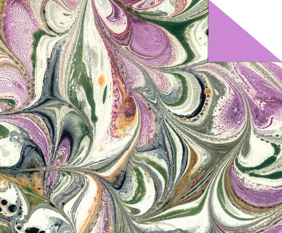 Kartong mustriga Ursus Art 49.5x68cm/220g lilla