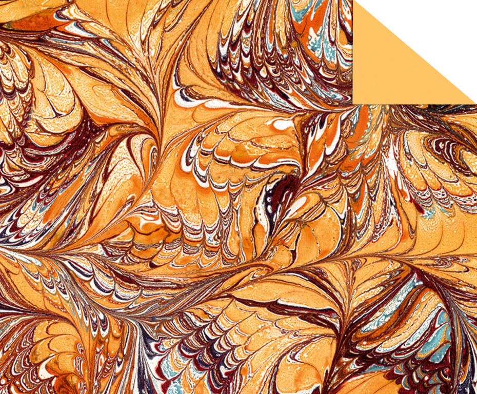 Kartong mustriga Ursus Art 49.5x68cm/220g pruun