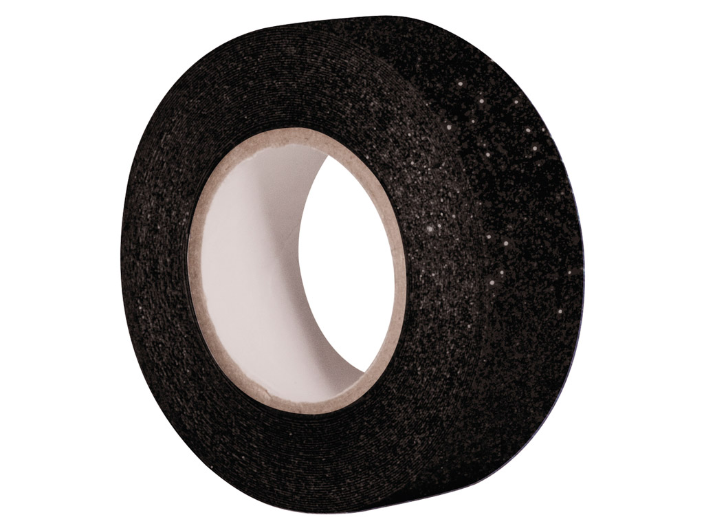 Glitterteip Rayher 15mmx5m black