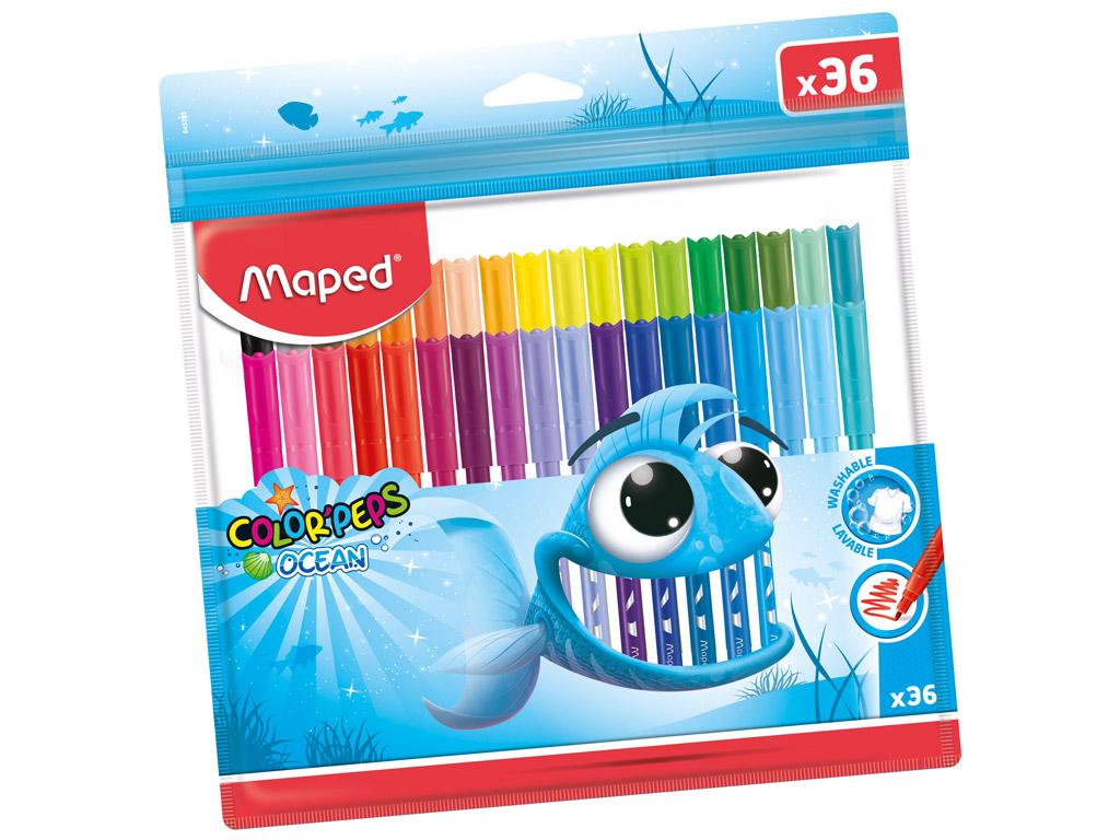 Flomasteris ColorPeps Ocean 36vnt.
