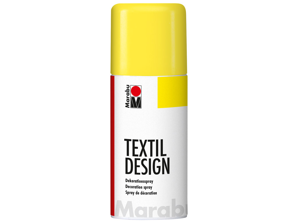 Tekstilės dažai Textil Design aerozolis 150ml 220 sunshine yellow