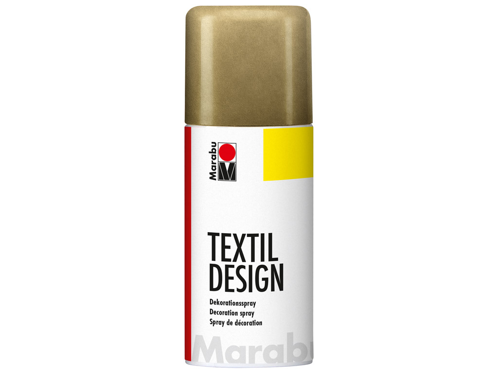 Tekstilės dažai Textil Design aerozolis 150ml 784 metallic-gold