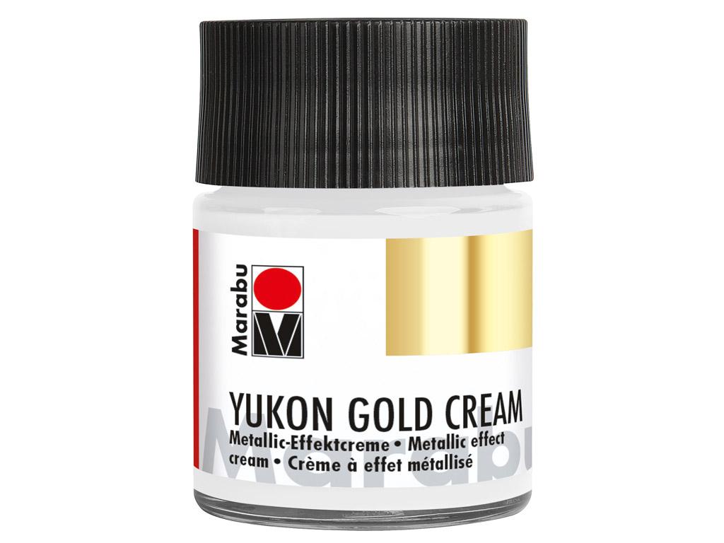 Dekoorvärv Yukon Gold Cream 50ml 782 metallic-silver
