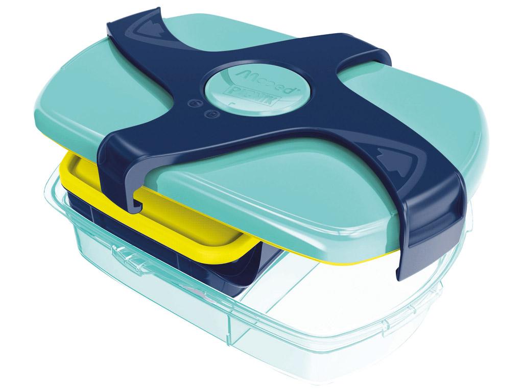 Priešpiečių dėžutė Maped Picnik Kids Concept 3 dalių 1.78l blue/green