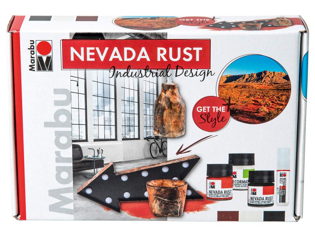 Dekoorvärvi komplekt Nevada Rust Industrial Design