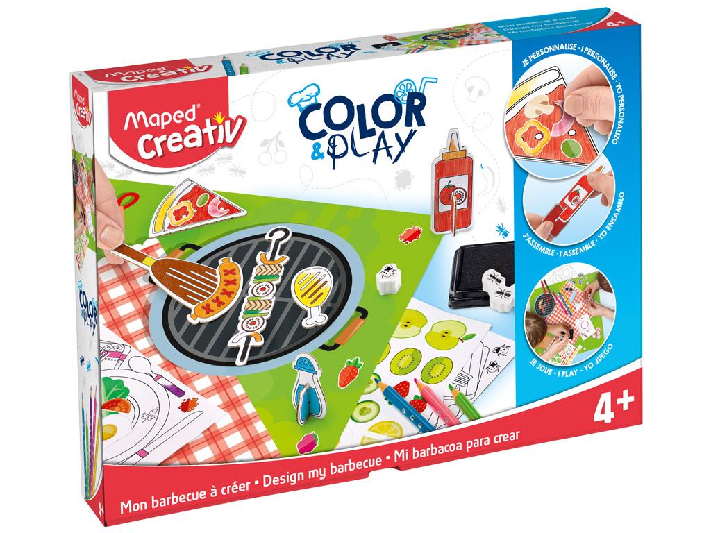 Meistravimo komplektas Maped Creativ Color&Play Design my Barbecue