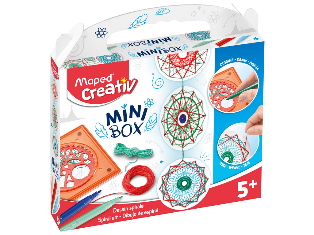 Spiral art kit Maped Creativ Mini Box