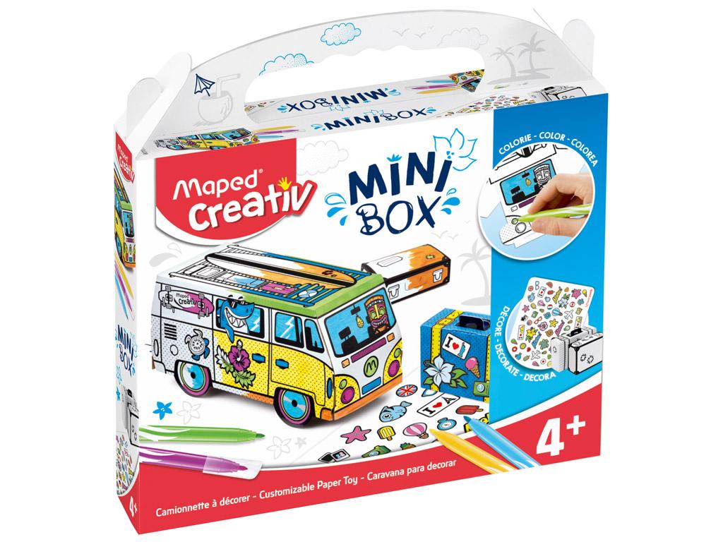 Meistravimo komplektas Maped Creativ Mini Box mikroautobusas