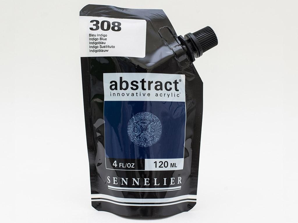Acrylic colour Abstract 120ml 308 indigo blue