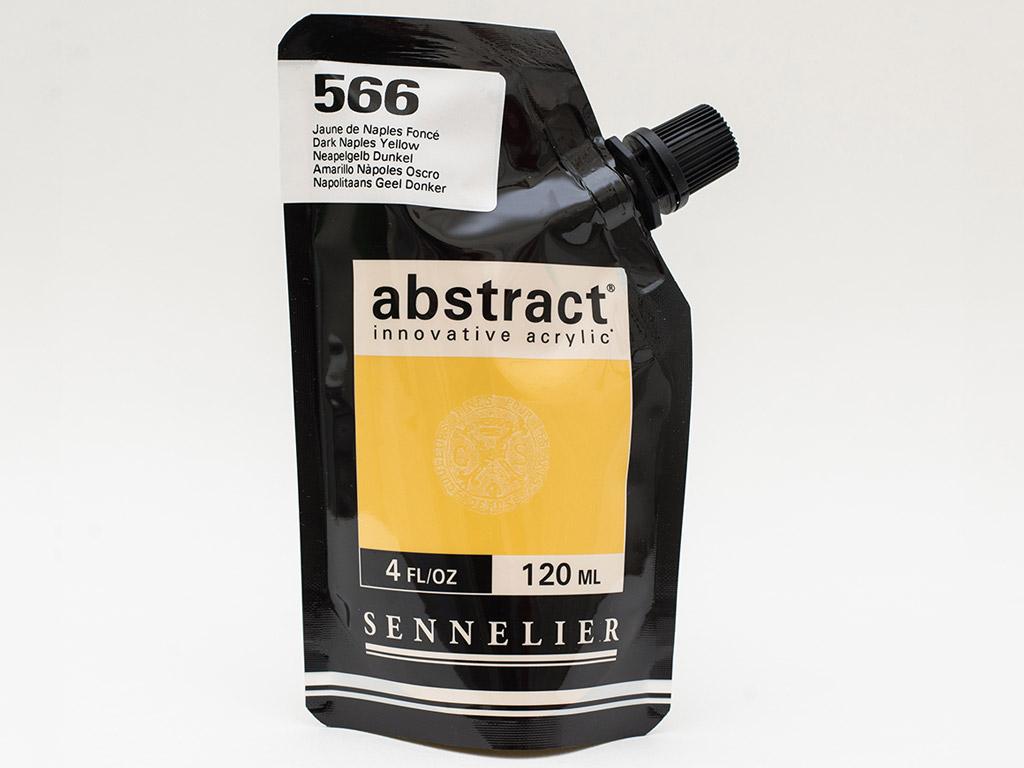 Acrylic colour Abstract 120ml 566 dark naples yellow