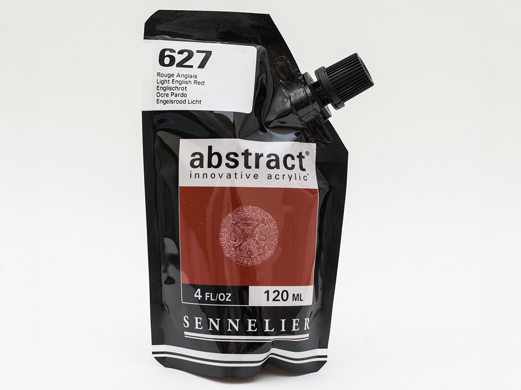 Acrylic colour Abstract 120ml 627 light english red