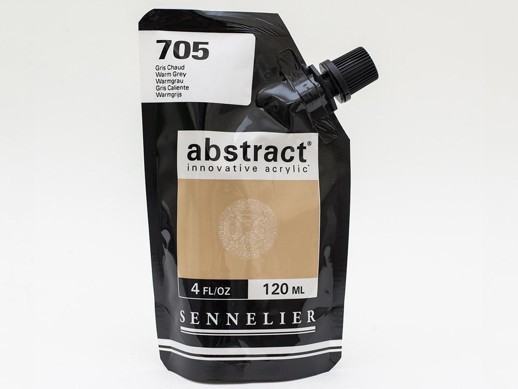 Acrylic colour Abstract 120ml 705 warm grey